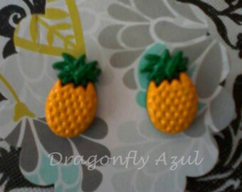 Lovely pineapple earrings