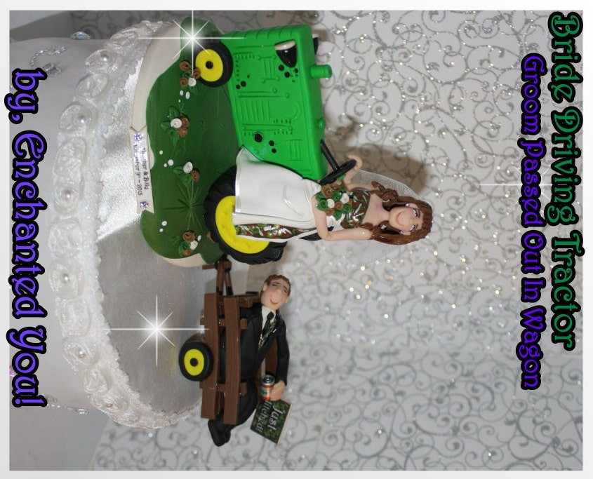 Country Tractor Wedding Cake Topper By EnchantedYou54449 On Etsy