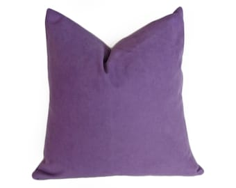 Light Purple Pillows,18x18, 45x45 cm, Decorative Throw Pillow, Cushion Cover, Contemporary ...