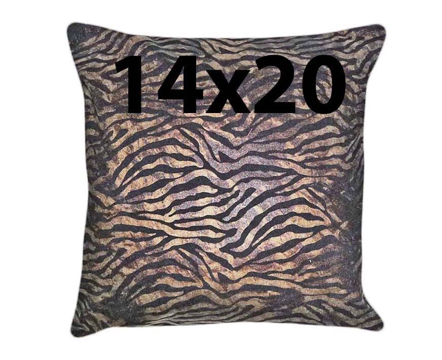 Animal Print Pillow Decorative Lumbar Pillow by PillowThrowDecor
