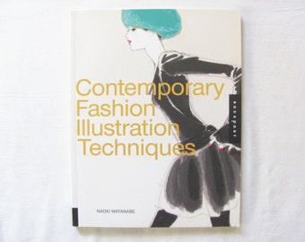 Fashion Illustration book, Contemporary Fashion Illustration Techniques, How to Draw Fashion