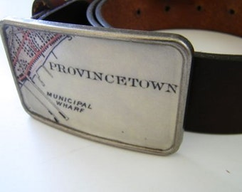 Provincetown Cape Cod  belt buckle- gift boxed