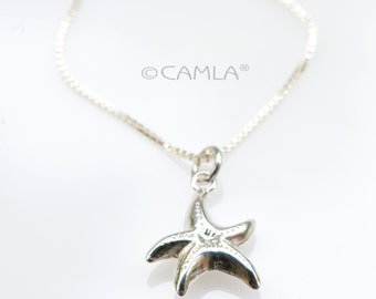 Dainty Sea Star Necklace