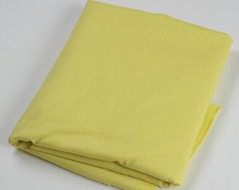 Cotton Polyester Mix Poplin - Yellow