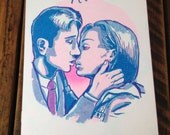 Special Agents - X-Files Mulder/Scully Romance Zine - risograph printed