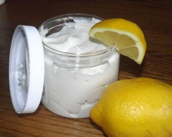 creamy citrus Goat Milk Lotion | HEMP + Mango Butter | Aloe + organic Olive oil | citrus bliss Litsea Cubeba hand and body | free ship !!