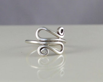 Sterling Silver Wire Ring size 7.5