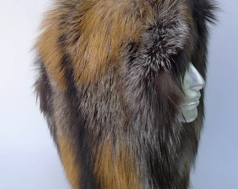 Red Fox Fur Pelt for Hats and Clothing
