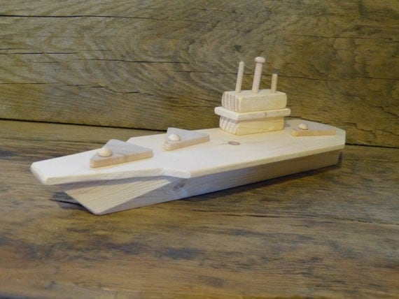 Wood Toy Aircraft Carrier Wooden Toys Matchbox Planes Boat