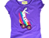 Roller Skate Shirt for your Hippy Chick