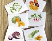 Vegetable Card Set No. 2