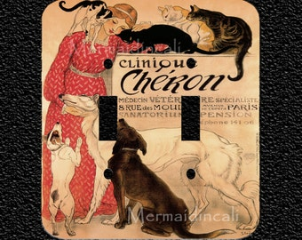 Clinique Cheron Light Switch Plate Covers: Toggle/Rocker/Outlet
