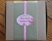 Valentine's Day Surprise Box- 4 dozen homemade cookies Free Shipping