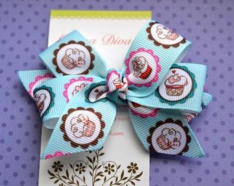 Cupcake Cutie Classic Diva Bow