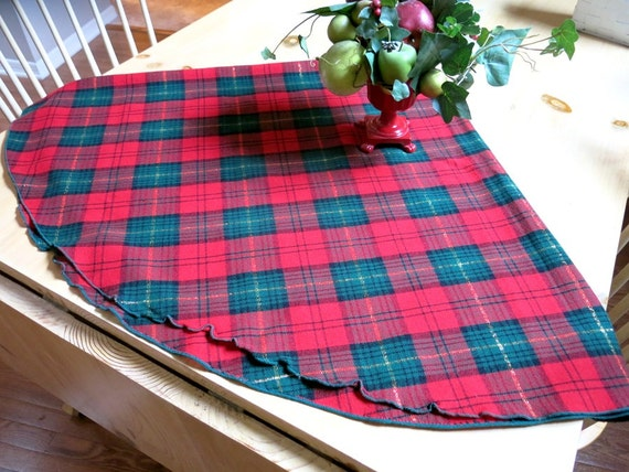 how to make tablecloth with wool