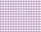 Riley Blake - Medium Gingham Lavender - 1 yard -  LAST ONE!