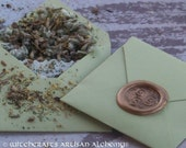 LIVE LUCKY Spirit of Magic™ Herb Loaded Envelope Spell by Witchcrafts Artisan Alchemy®