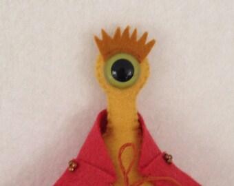 Pav the Alien, Felt Puppet