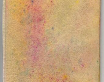 Pure Wool Felt Sheet - Van Gogh - Hand-Painted - Steiner - Waldorf - Eco - Natural