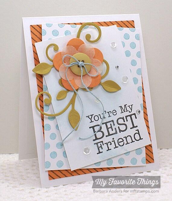 Best friend card ideas