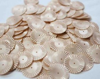 75 Peach Color Round Sequins/KBRS079