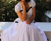 Womens Sewing Dress Pattern Swing Rockabilly Tia Sew Chic 1312