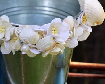 SeaShell Flower Girl Pail - Beach Wedding