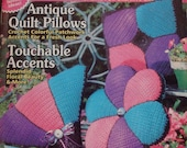 Crochet Home Magazine Number 48 August-September 1995/Crochet Patterns/Crochet Afghan Patterns/Christmas Stocking Pattern/Instructions