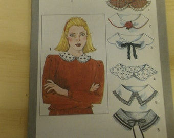 Collars to add to your garments One Size Simplicity 9761