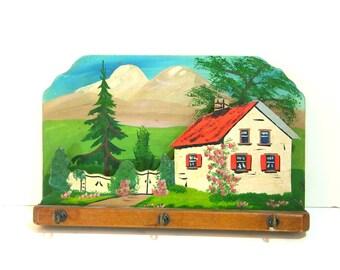 Vintage Cottage Key Rack