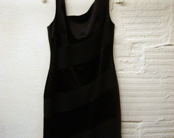 LBD Laundry Dress 1990s Shelly Segal Vintage 12 P
