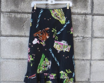 Rampage Print Skirt  Women's size S