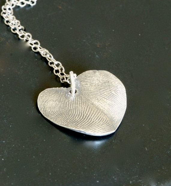 Best Friend Fingerprint Necklace