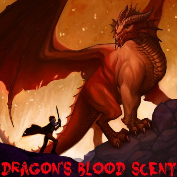 DRAGON'S BLOOD SCENTED Soy Wax Melts - Wickless Candle - Soy Tarts - Cedarwood - Orange - Patchouli - Spicey - Highly Scented - Hand Poured