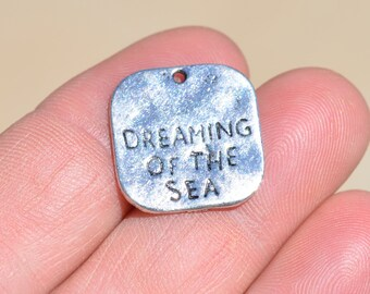 5  Silver Dreaming of the Sea Charms SC1739