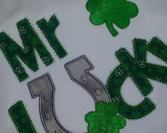 Mr Lucky Shamrock St. Patricks Day Shirt Custom Personalized
