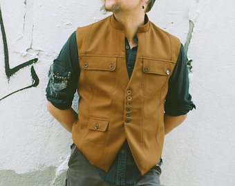 The Doublet Vest---Custom Made in Your Colors