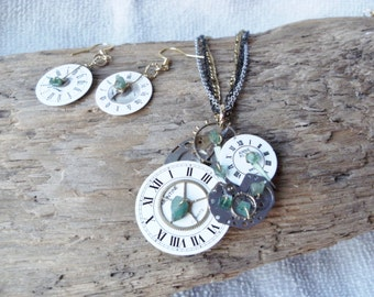 Steampunk No. 7 With Emerald chips