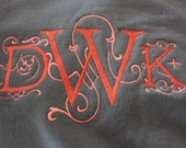 Large Monogram sweatshirt    New look on an old tradition of a sweatshirt