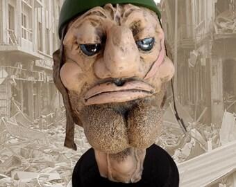 Can O' Whoop Ass, mixed-media sculpture