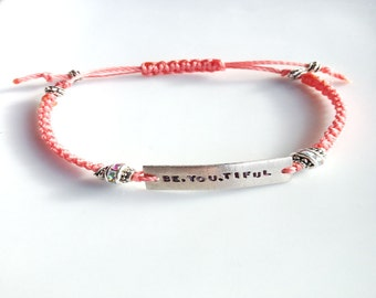 Words to Wear bracelets - be inspired to wear who you are - be.you.tiful
