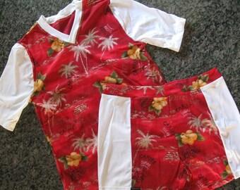 Woman's LGW Rashguard Short Set (size 4-6)