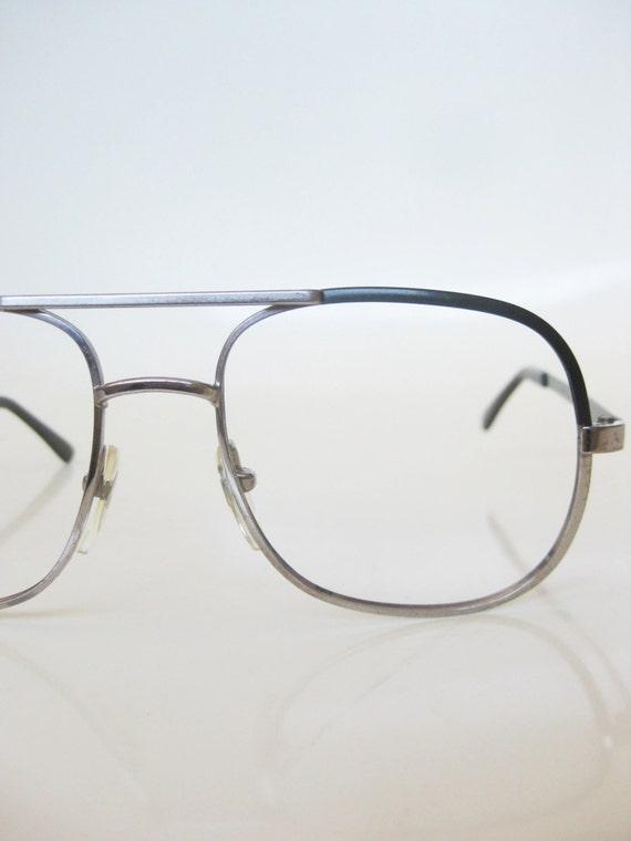 lunettes de soleil lunettes vintage aviateur italien de mens. Black Bedroom Furniture Sets. Home Design Ideas