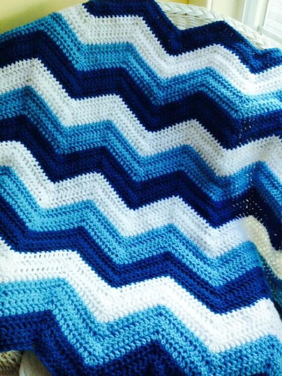 Neue Chevron Zick Zack Welligkeit Baby Decke afghanischen Wrap
