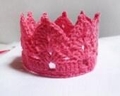 Crochet Crown Pattern-Tiara Headband- Crown Headband- Crown Pattern- Crochet Baby Crown Pattern n50