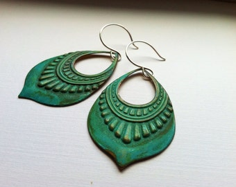 Roma Verdigris Earrings