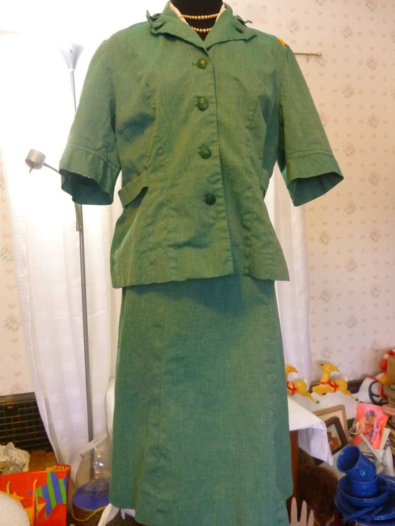 Vintage 1950s Adult Leader Girl Scout By Pamelamurphyvintage