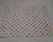 New Craft Felt Sheets Confetti Polka Dot Designs Printed Crafting Fun Art and Crafts Supplies--2 Sheets