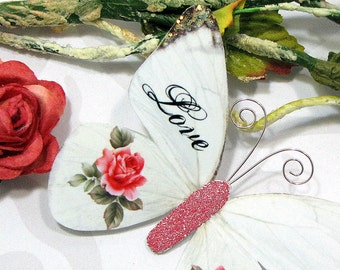 Butterfly Embellishments L'Amour