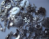 All Charms Random Surprise Lot Charm Assortment - 50 Pieces